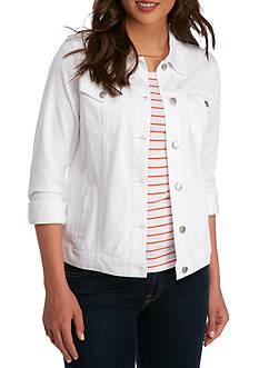 Bandolino Sarah Knit Twill Jacket