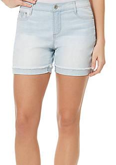 Bandolino Mandie Embroidered Denim Shorts
