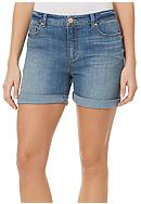 Bandolino Karyn Slim Boyfriend Denim Short