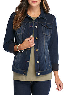 Bandolino Button Front Jean Jacket