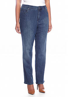 Bandolino Plus Size Mandie Jeans (Short & Average)