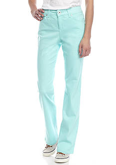 Bandolino Petite Size Straight Leg Perfect Fit Jean