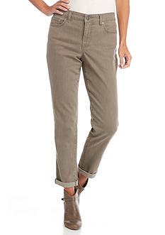 Bandolino Karyn Slim Boyfriend Twill Jeans