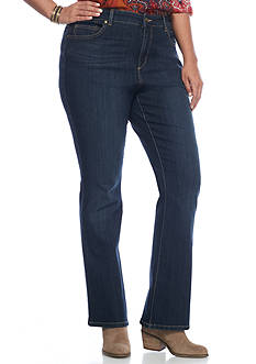Bandolino Plus Size Mandie Barely Boot Jeans