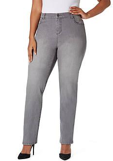 Bandolino Plus Size Mandie Jeans Avg
