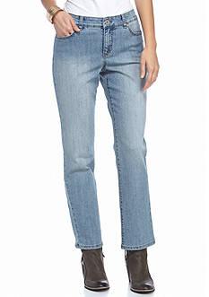 Bandolino Petite Short Mandie Fashion Jeans