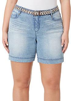 Bandolino Plus Size Amalia Bermuda Shorts
