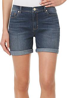 Bandolino Petite Karyn Slim Boyfriend Shorts