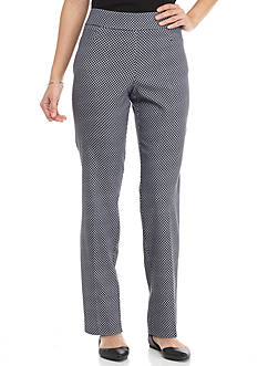Briggs Petite Size Straight Leg Pull On Pant