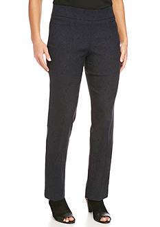 Briggs Petite Printed Millennium Comfort Waistband Pants - Petite Short