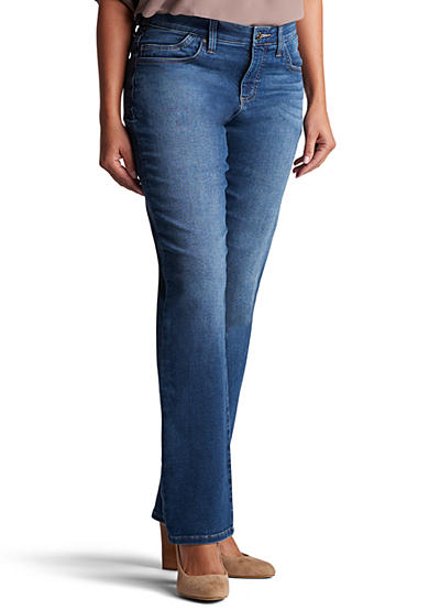 Lee® Platinum Petite Size Lee Platinum Lydia Barely Bootcut Jean