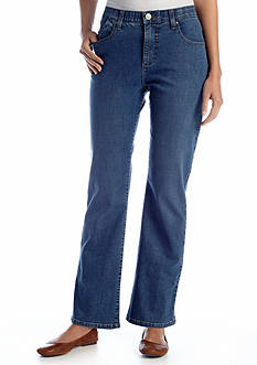 Lee Platinum Petite Perfect Fit Nellie Barely Bootcut Jean
