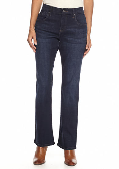 Lee® Platinum Petite Comfort fit Nellie Barely Bootcut Jean