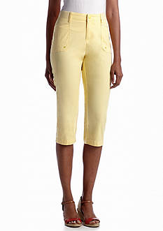 Lee&reg Platinum Faith Knit Waistband Capri