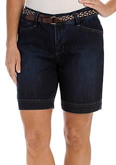 Lee Platinum Petite Georgia Belted Walkshorts