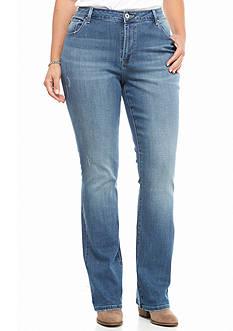 Plus Size Lee Platinum Curvy Fit Avery Bootcut Jeans