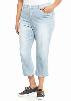 Lee Platinum Plus Size Harmony Capri