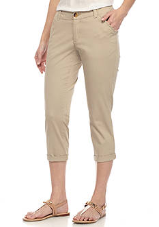Lee® Platinum Petite Lee Platinum Essential Chino Capris
