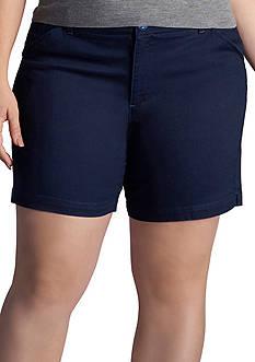 Lee Platinum Plus Size Essential Chino Short