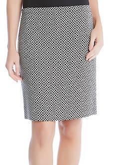Karen Kane Jacquard Skirt