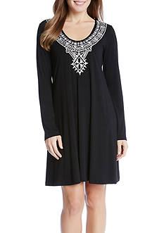 Karen Kane Embroidered Taylor Dress