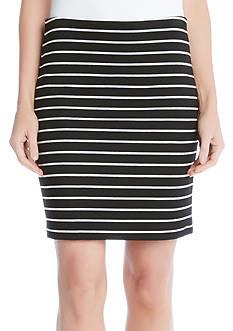 Karen Kane Striped Skirt