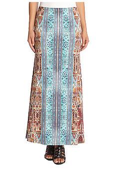 Karen Kane Baja Printed Maxi Skirt