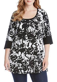 Karen Kane Plus Size Print Tunic