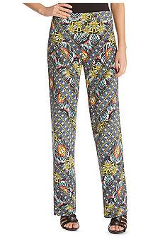 Karen Kane Pull On Printed Pant
