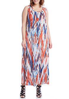 Karen Kane Plus Size Maxi Tank Dress