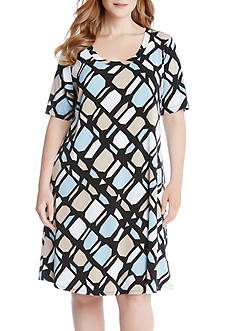 Karen Kane Plus Size A-Line Dress