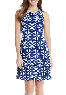 Karen Kane Kaleidoscope Printed Dress