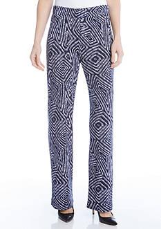 Karen Kane Geo Print Soft Pants