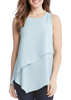 Karen Kane Asymmetric Layered Top
