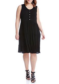 Karen Kane Plus Size Tiered Dress