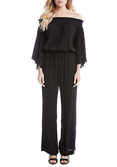 Karen Kane Off-The-Shoulder Jumpsuit