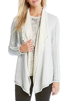 Karen Kane Raw Edge Collar Jacket