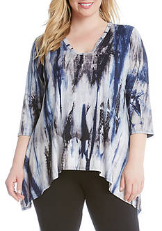 Karen Kane High Low Hem Top