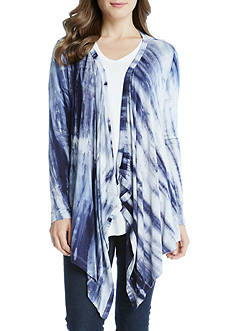 Karen Kane Asymmetric Drape Cardigan