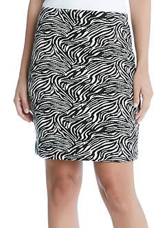 Karen Kane Zebra Print Skirt