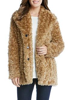 Karen Kane Faux Fur Jacket