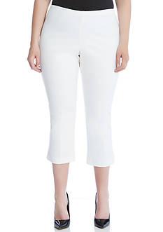 Karen Kane Plus Size Cropped Flare Pant