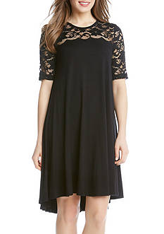 Karen Kane Lace Maggie Trapeze Dress