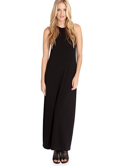 Karen Kane High Neck Maxi Dress
