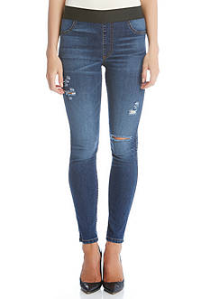 Karen Kane Distressed Ankle Jeans