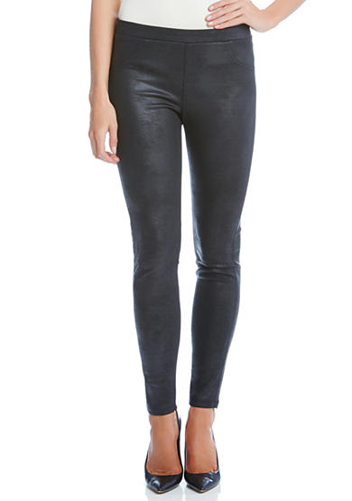 Karen Kane Stretch Faux Leather Pants