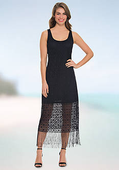 Profile by Gottex Crochet Tank Cover Up