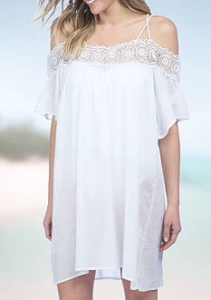 La Blanca Island Flare Dress Swim Cover Up