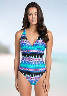 La Blanca Sandbar Strappy One Piece