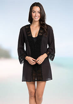 La Blanca Island Fare Tunic Cover Up